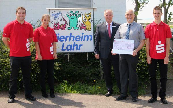 Spendenaktion der Auszubildenden der Sparkasse Offenburg/Ortenau