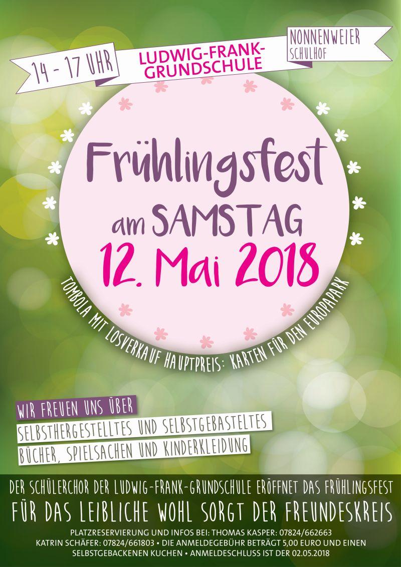 Frühlingsfest Ludwig Frank Schule Nonnenweier