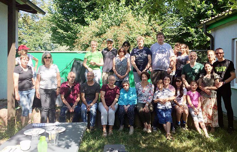 Besuch von den ProVeg-Gruppen Lahr und Ettenheim