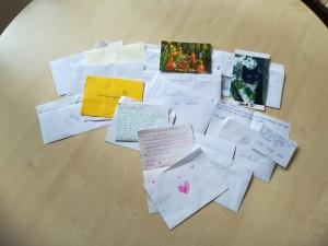 Briefe für aus Ettenheim für das Tierheim!