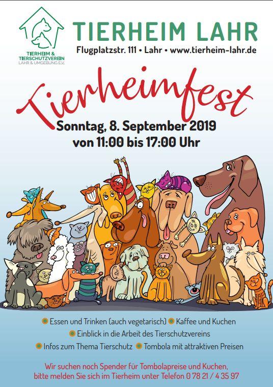 Flyer Tierheimfest 2019