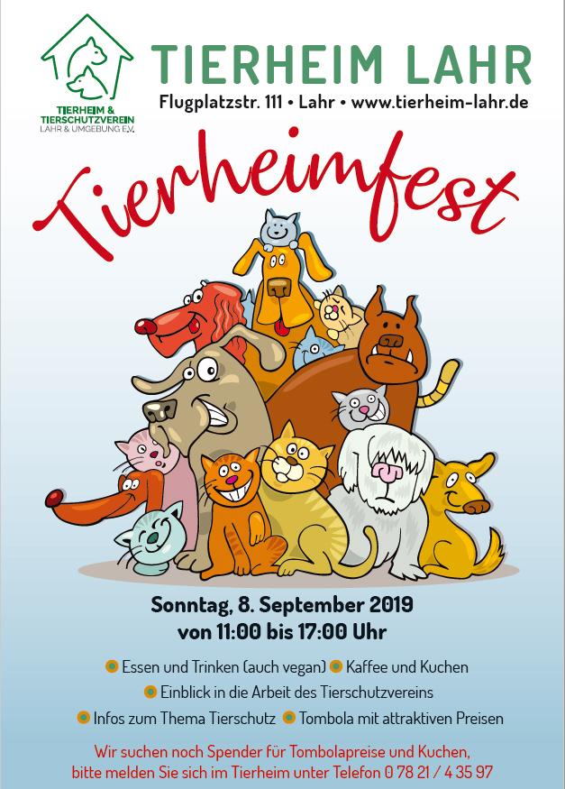 Tierheimfest am 08.09.2019
