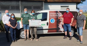 Spendenübergabe der ProVeg-Gruppe Lahr/Ettenheim